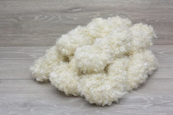 Chunky Loop 89% Superfine Kid Mohair 7% Wool 4% Nylon Yarn  5 x 100g Pack