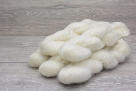 Lace Weight 72% Superkid Mohair 28% Mulberry Silk 5 x 50g Pack